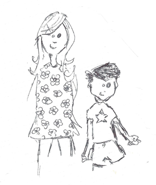 Kate and Holden Sketch